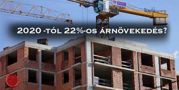 2020-túl újra 27% a lakóingatlan értékesítés ÁFA kulcsa