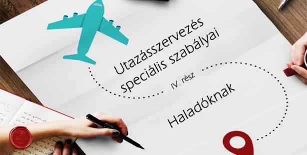 Utazásszervezés speciális szabályai - haladóknak IV. rész Írisz Office adótervezés