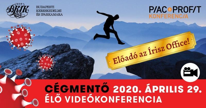 cégmentő konferencia 2020 Írisz Office adótervezés